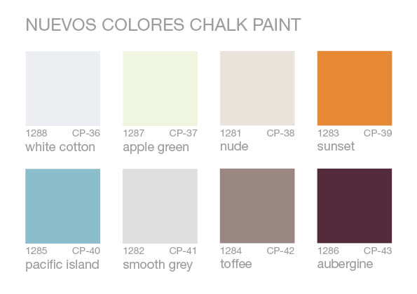 colores chalk paint